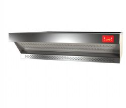 Hotte en acier inox PizzaGroup FLME K9