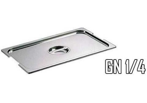 Couvercle pour bac gastro inox GN 1/4
