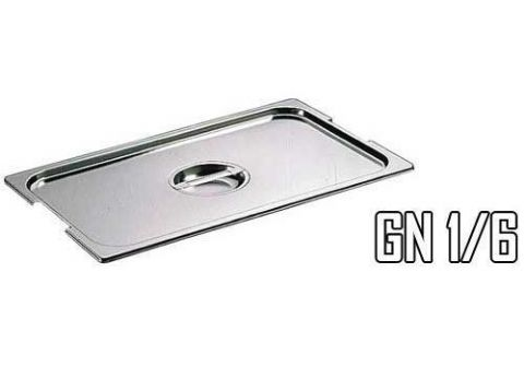Couvercle pour bac gastro inox GN 1/6