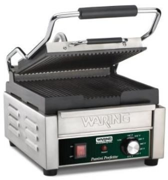 Appareil à paninis professionnel simple WARING WPG150E