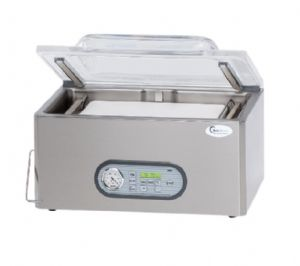 Machine à emballer sous vide de table Longueur de scellage 2X320mm BOSS VAKUUM