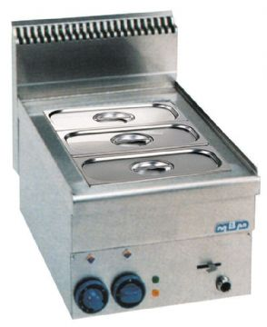 Bain-marie gaz simple MBM