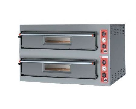Four 2x6 pizzas Large électrique professionnel ENTRY MAX PIZZAGROUP