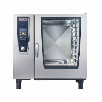 Four mixte à gaz 10 niveaux GN2/1 SelfCookingCenter RATIONAL