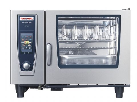 Four mixte à gaz 6 niveaux GN2/1 SelfCookingCenter RATIONAL